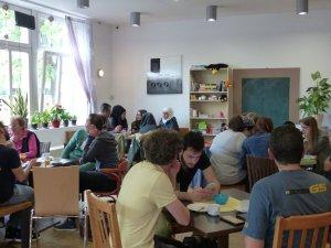 Foto: Marie Baum, Café Welcome - 5VIER
