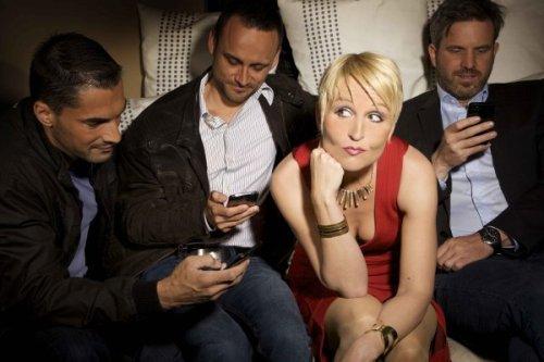 Annette Kruhl: Männer die auf Handys starren (Musik-Kabarett)