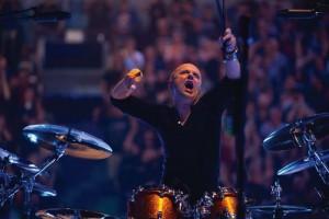 Ist Motörhead wochenlang als Fan gefolgt: Metallica-Drummer Lars Ulrich (Foto: Universal Music)