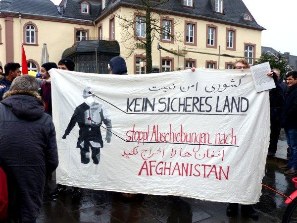 Demonstration 11.02.2017 gegen Abschiebungen nach Afghanistan