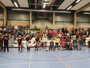 Saisonabschluss gegen den USC München, Foto: DONECK Dolphins Trier