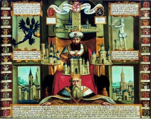 Abbildung: Claudius Markar, Trebeta – Der sagenhafte Gründer der Stadt Trier, 1684 © Stadtmuseum Simeonstift Trier