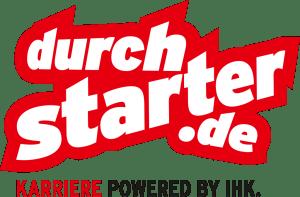 Logo der Ausbildungskampagne durchstarter.de