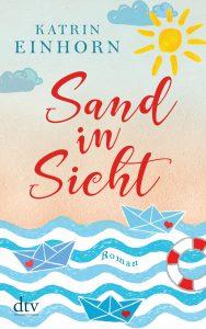 """Buchcover """"Sand in Sicht"""" von Katrin Einhorn"""