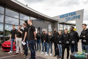 Team-Präsentation der RÖMERSTROM Gladiators Trier