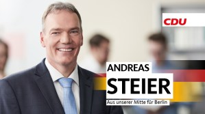 Spitzenkandidat der CDU zur Bundestagswahl in Trier Andreas Steier