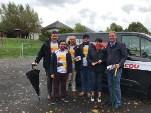 Wahlkampf der CDU für die Bundestagswahl
