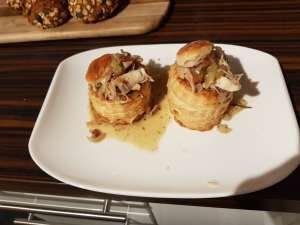 Carlas Cooking - Neujahrspastete mit Hühnerfrikassee