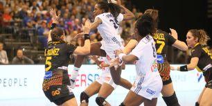 Frankreich gegen Spanien bei der Handball-WM der Frauen in Trier