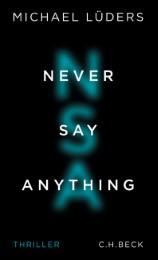Buchtipps zum Wochenende: Never Say Anything