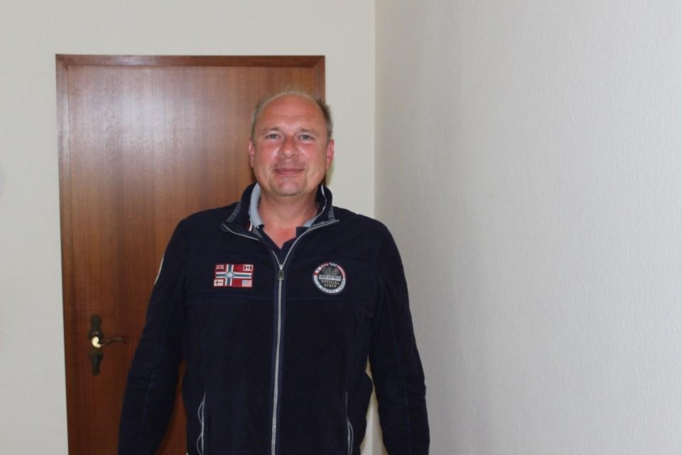 Eintracht-Vorstandsmitglied Roman Gottschalk. Foto: 5vier.de / Manuel Maus