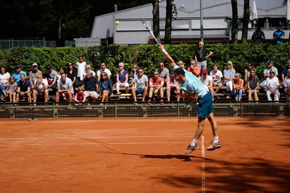 Tennis Jan Choinski (GER), Trier-Sieger 2018 - Foto: TC Trier - 5VIER
