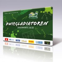 Gladiators Dauerkarte Saison 2019/20 - Agentur Kühnen - 5VIER