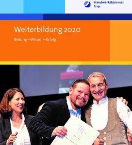 HWK-Weiterbildungsprogramm 2020 veröffentlicht