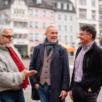 Drei wegen Corona arbeitslose Gästeführer aus Trier werden Beet-Paten