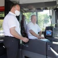 SWT: Ticketkauf im Bus ab Dienstag wieder möglich