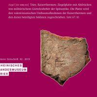 """82. Band der """"Trierer Zeitschrift"""" erschienen"""