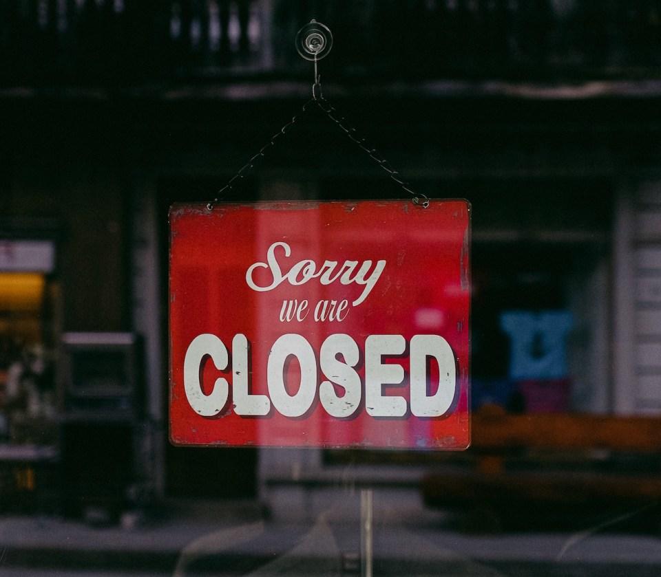 shop_closed_corona_crisis - Foto von Anna Shvets von Pexels