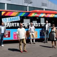 Neuer Bus wirbt für Fairtrade-Stadt Trier