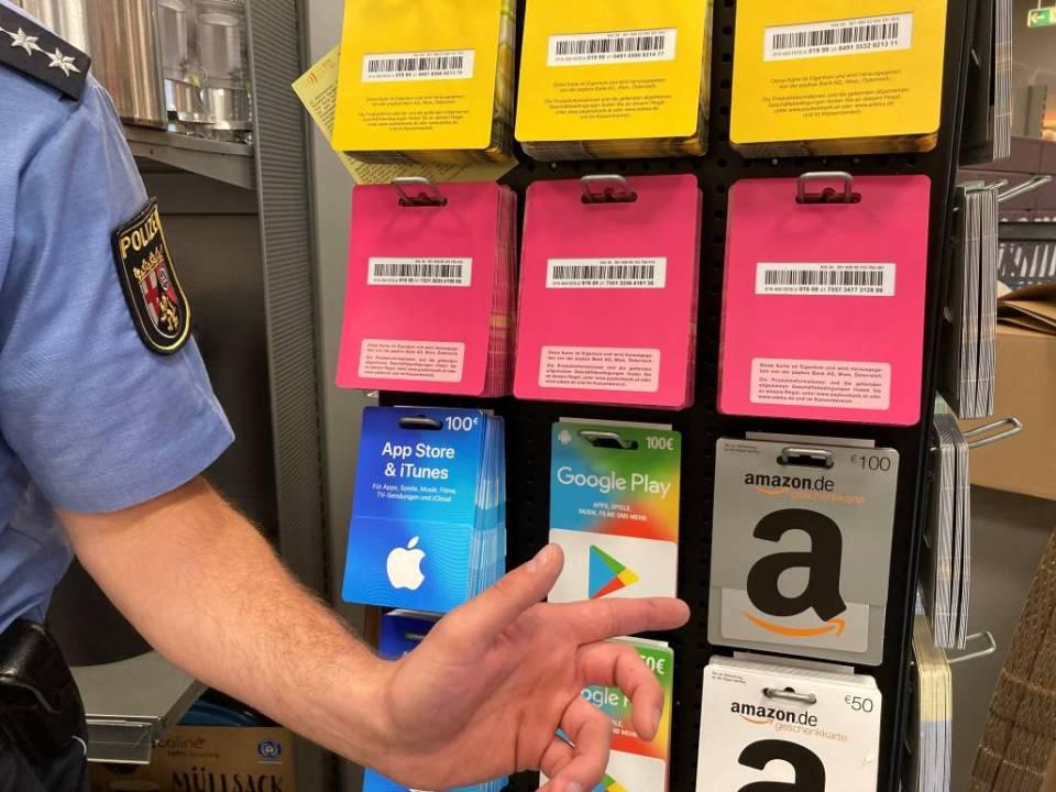 Polizeipräsidium Trier: Polizei warnt vor der Masche mit den Guthabenkarten