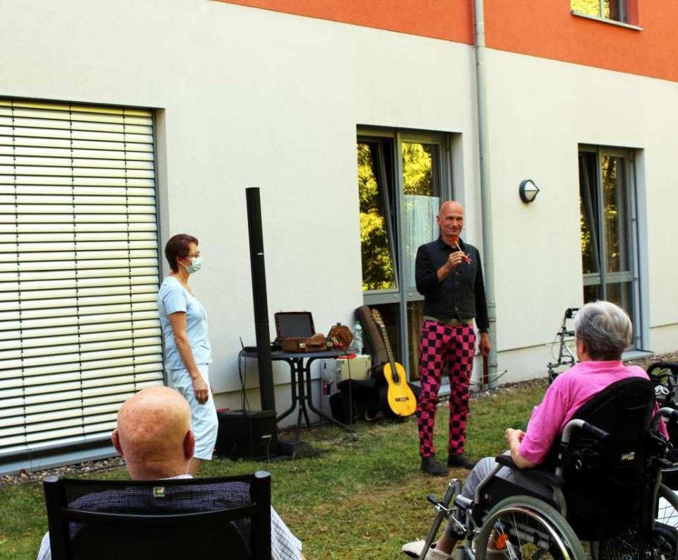 """""""Comedy für Senioren"""" im Seniorenzentrum der Barmherzigen Brüder Trier"""