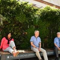 Parkplätze in der Neustraße Trier weichen grüner Oase