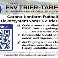 Das neue Online-Ticketsystem des FSV Tarforst - Foto: Verein