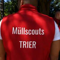 Scouts sollen für weniger Müll in den Trierer Grünanlagen sorgen