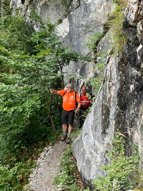 #8Freunde wandern zum dritten Mal für nestwärme e.V. über die Alpen – Tag 3