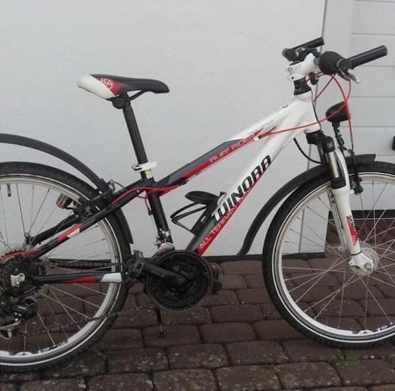 Das Fahrrad der vermissten 15-Jährigen Maya Chanaa Foto: Polizei Trier