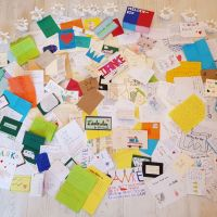 Zahlreiche Briefe gingen bei der Aktion Heldenpost ein. Foto: Aktion Heldenpost / Privat