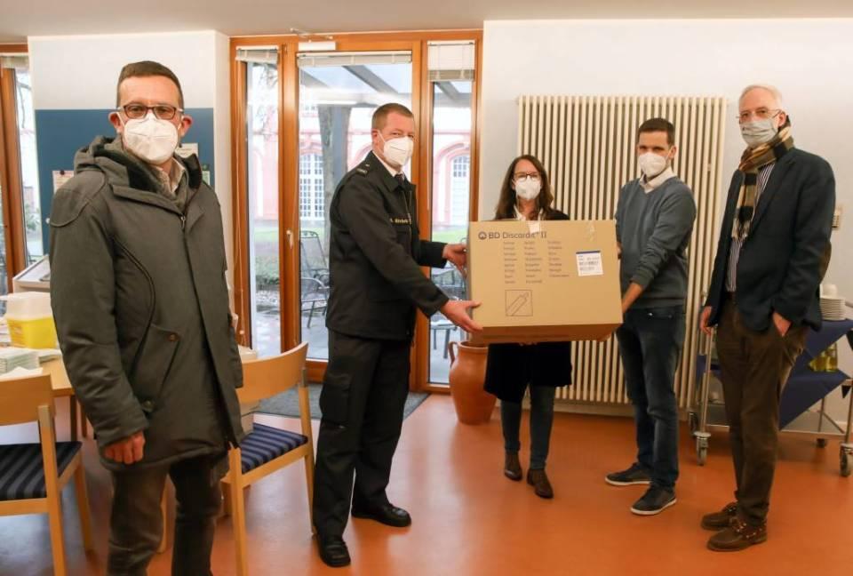 Impfbeginn in Pflegeeinrichtungen in Trier und Trier-Saarburg