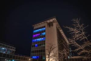 Interaktives Lichtspektakel an der Universität Trier