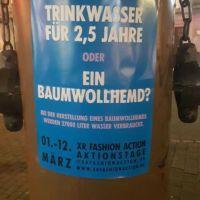 Eines der Plakate der Aktivistengruppe Extinction Rebellion am Pranger in Trier. Bildquelle: Extinction Rebellion Trier