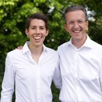 Vater Joachim und Sohn Jakob Streit - Foto: J.Streit