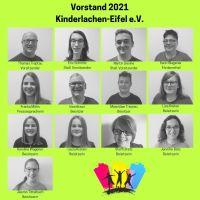 Der neue Vorstand 2021 von Kinderlachen-Eifel e.V. Bildquelle: Kinderlachen-Eifel e.V.