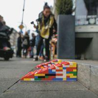 So sehen die fertigen Rampen aus Legosteinen aus. Bildquelle: Aktion Mensch