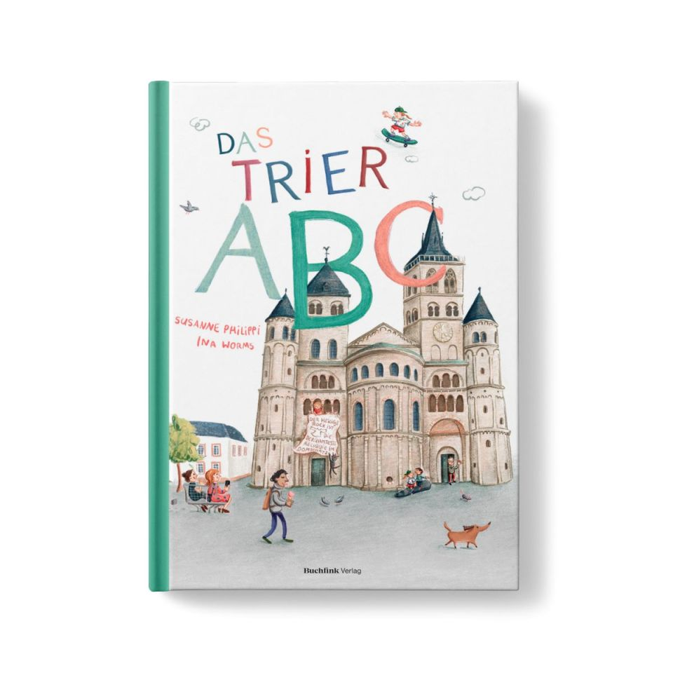 Das Trier ABC wird im Juni veröffentlicht. Bildquelle: Buchfink Verlag