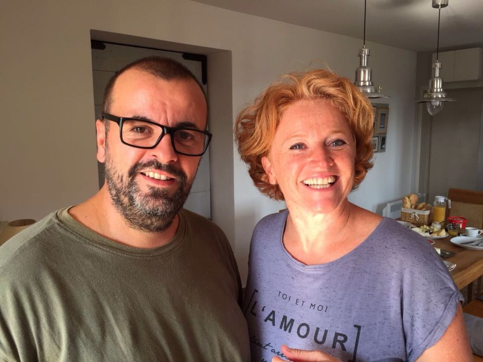 Igor und Helga führen zusammen das Mio Monte Apartmenthaus in Montenegro. Bildquelle: Helga Haag
