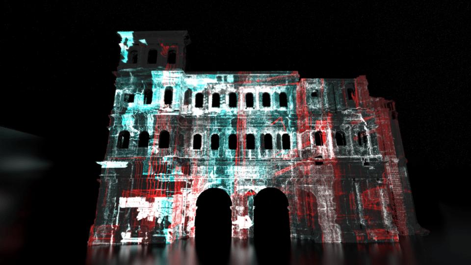 """Beim Lichtkunstfestival """"Illuminale"""" wird in diesem Jahr die Porta Nigra in ein besonderes Licht gerückt. Bildquelle: ttm GmbH"""