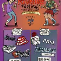 Das Plakat für das Rindertanz Festival 2021. Bildquelle: Mergener Hof e.V.