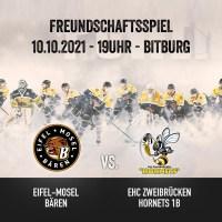 Endlich wieder Eishockey in Bitburg
