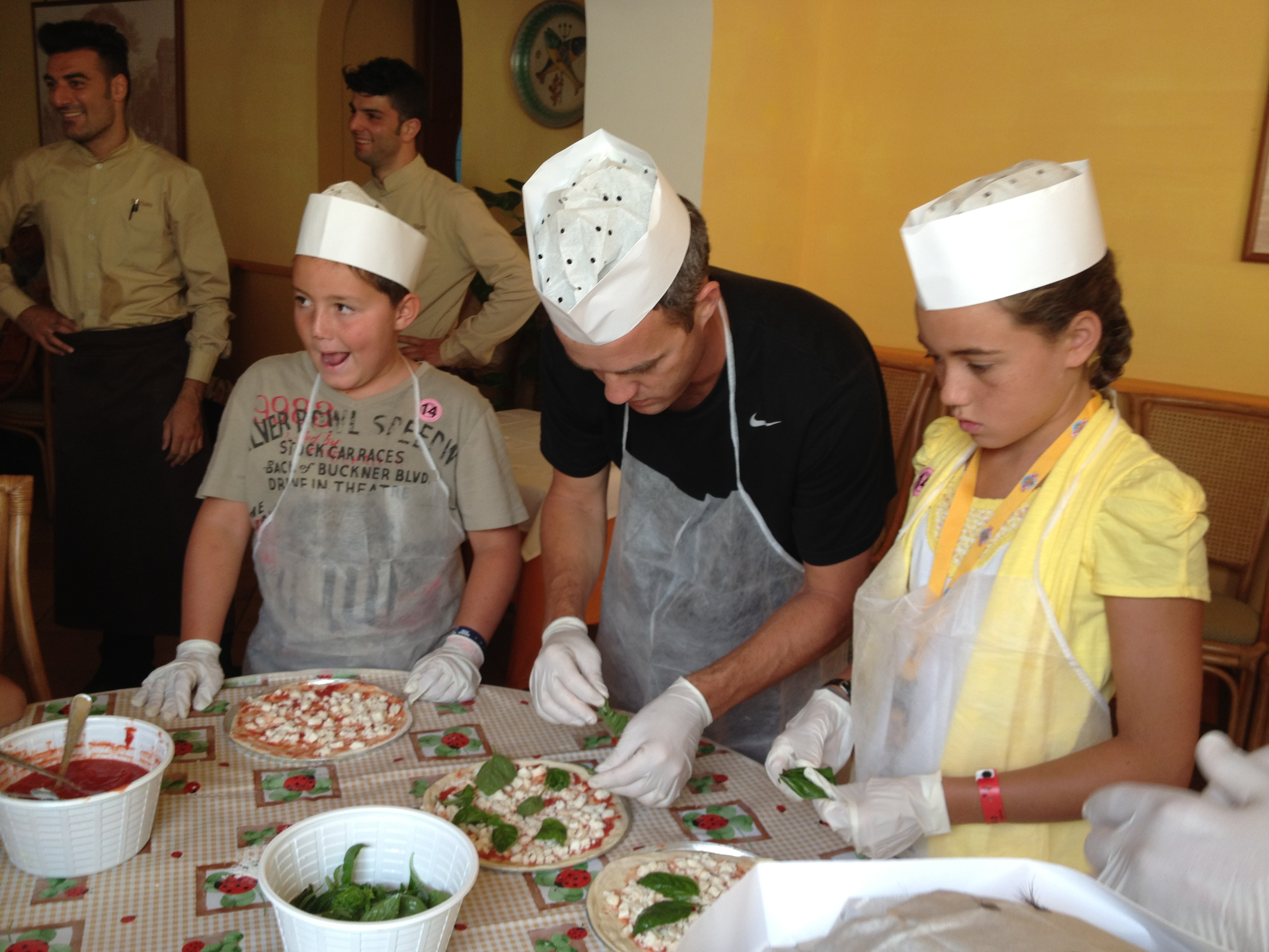 Pizza Making in Sorrento Italy  5 Wheels to 5 Star