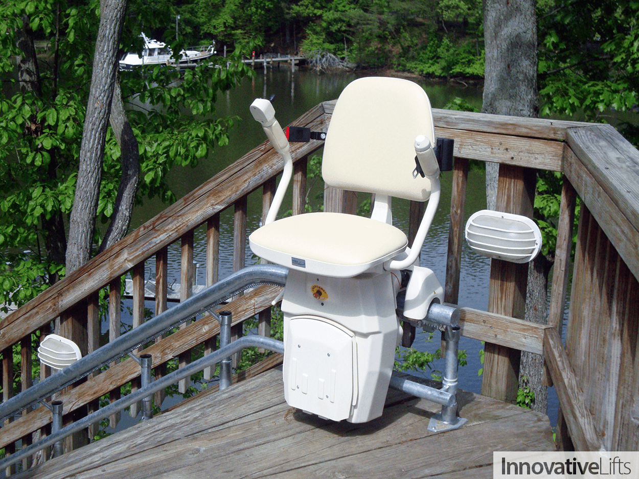 Outdoor Chair Lifts Outdoor Curved Stairlifts Year Round Access Innovative Lifts