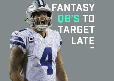 Fantasy QB's to Target Late