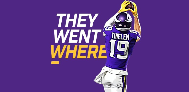 They Went Where - Adam Thielen
