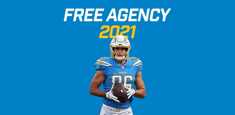 2021-free-agents-tight-ends - Hunter Henry