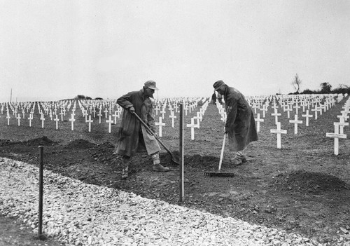 One year after the D-Day landings in Normandy, Ger
