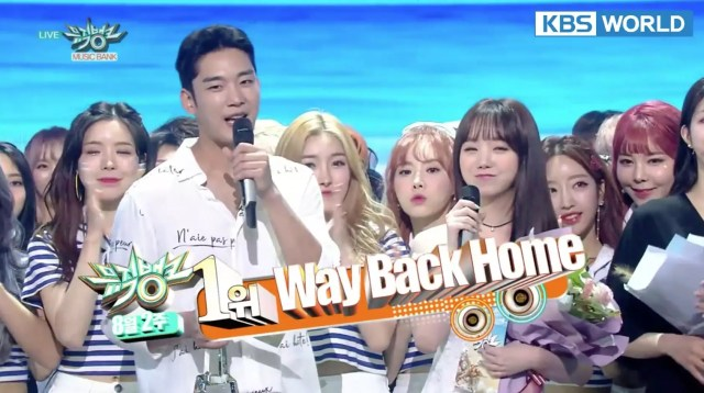 "Shaun Grabs 1st Win With ""Way Back Home"" On ""Music Bank""; Performances By Red Velvet, DIA, And More"