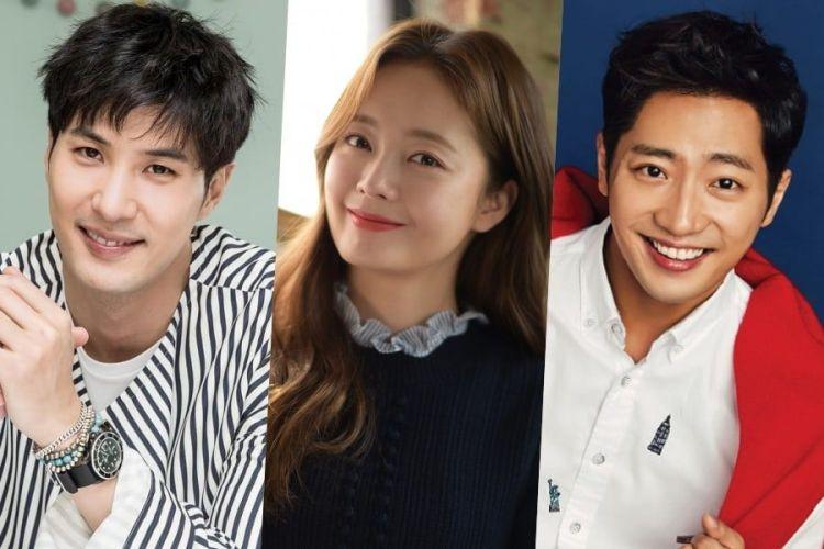 Kim Ji Suk Confirmed To Join Lee Sang Yeob In New Drama; Jun So Min Still In Talks